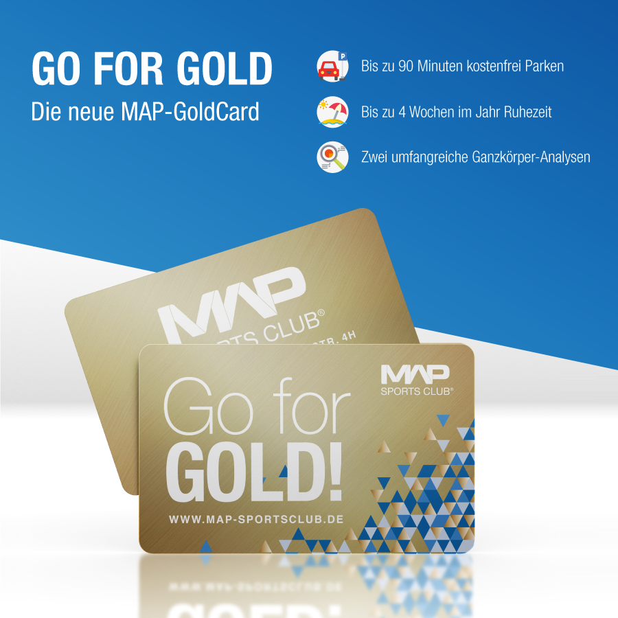 Fitnessstudio Map Sports Club Mainz GoldCard