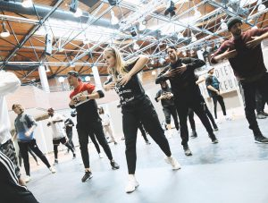 Hip Hop Kurs im Fitnessstudio Map Sports Club Mainz