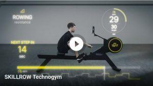 fitnessstudio map sports club Technogym skillrow