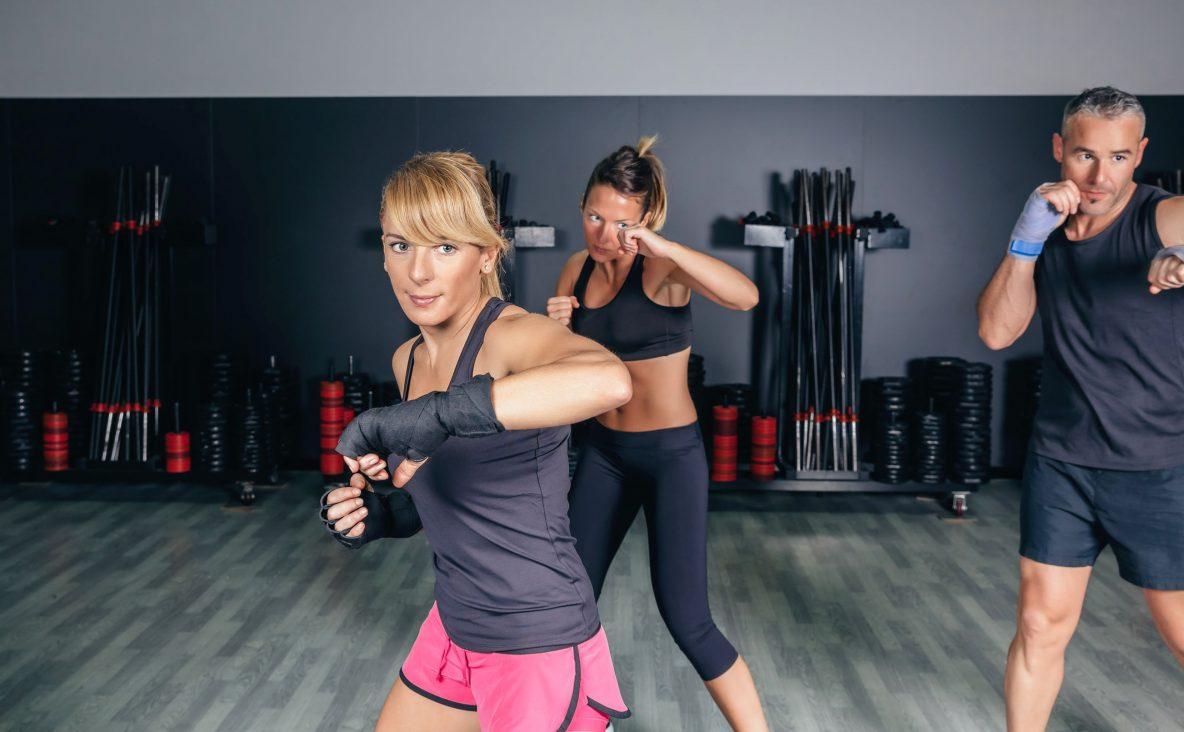 kickboxen fitnessstudio map sports club